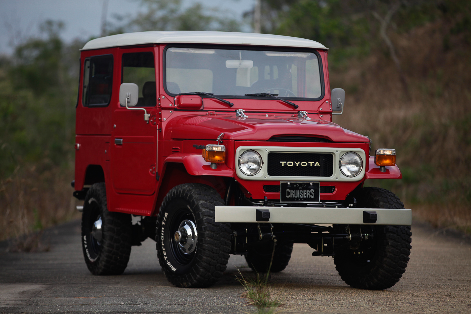 1982 FJ40 – FREEBORN RED – House Of Cruisers
